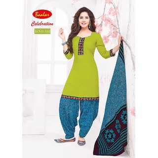 Celebrations Womens COTTON PATIYALA (