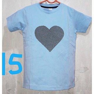 Cell Art's Blue Round Neck Half Sleeve T-shirt For Men