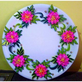 Beautiful Quilling Platter