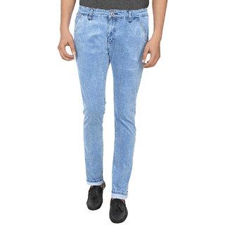 Fever Blue Corduroy Lycra Jeans
