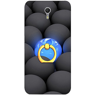 Casotec Balls Dark Neon Sight Surface Design 3D Printed Hard Back Case Cover with Metal Ring Kickstand for Lenovo ZUK Z1