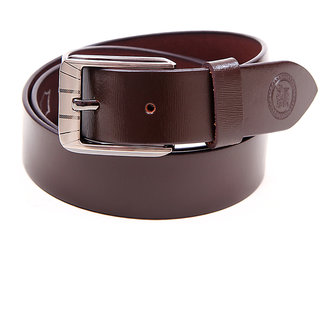Harex Brown Leather Formal Belts
