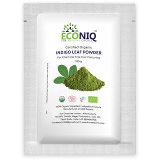 Econiq Organic Indigo leaf powder (100g)