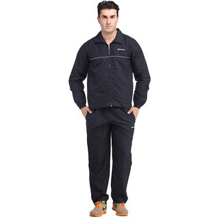 Lotto navy blue tracksuit with piping
