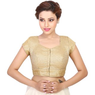 Freedom Design's Gold Solid/Plain  Blouse
