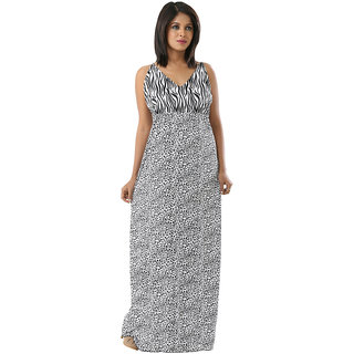 Stylish Printed Maxi Dress