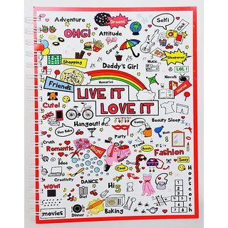 Live it Love It B5 Soft Bind (200pgs)