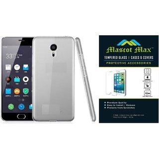 cheaper 54067 9f5f7 Mascot max back cover with tempered glass for swipe Elite plus