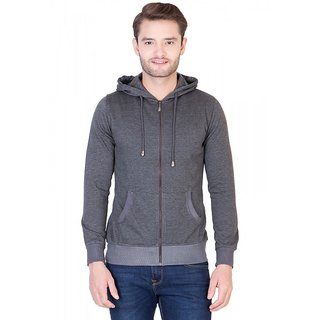 La-Vora Slate Gray Sweat Jacket Boys