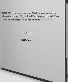PART-1, 200 pdf eBooks on Internet Marketing  guide, Physical and Psychological Health, Fitness and Spirituality. These