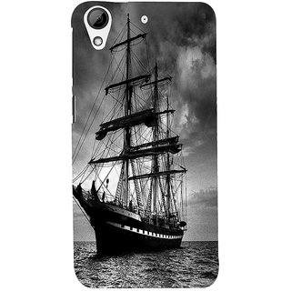 ifasho Ship in See Back Case Cover for HTC Desire 626