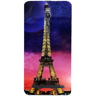 ifasho Effile Tower Back Case Cover for Asus Zenfone2