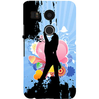 ifasho model cat walk Back Case Cover for Google Nexus 5X
