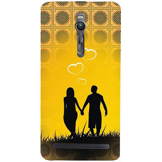 ifasho Boy Holding girls Hand Back Case Cover for Asus Zenfone2