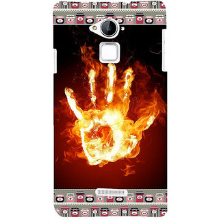 ifasho Modern Art Design  dont touch my phone with palm Back Case Cover for Coolpad Note 3