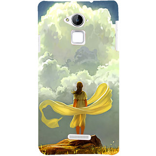 ifasho Girl waiting art work painting Back Case Cover for Coolpad Note 3