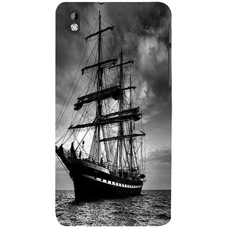 ifasho Ship in See Back Case Cover for HTC Desire 816