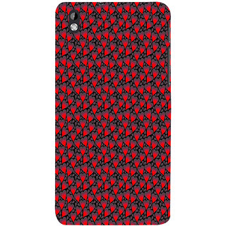ifasho Modern Art Design Pattern with Lot Of small heart Back Case Cover for HTC Desire 816