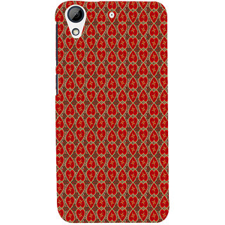ifasho Modern Art Design Pattern with Lot Of small heart Back Case Cover for HTC Desire 626