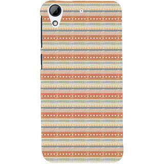ifasho Animated Pattern colrful 3Dibal design Back Case Cover for HTC Desire 728