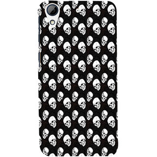 ifasho Modern  Design skeleton Pattern Back Case Cover for HTC Desire 728