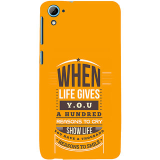 ifasho quotes on success Back Case Cover for HTC Desire 826