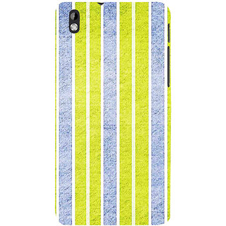 ifasho Design lines pattern Back Case Cover for HTC Desire 816