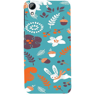 ifasho Animated Pattern Animal AND creature Back Case Cover for HTC Desire 728