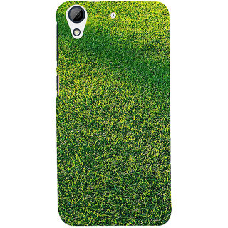 ifasho Animated Pattern grass Back Case Cover for HTC Desire 626