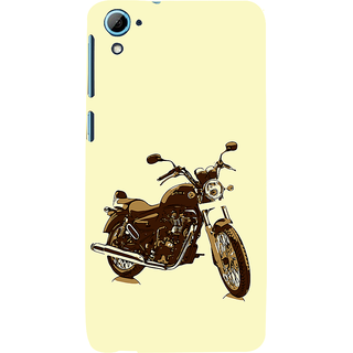 ifasho Royal Bike Back Case Cover for HTC Desire 826