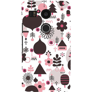 ifasho Animated Pattern colrful 3Dibal design cartoon flower Back Case Cover for Google Nexus 5X