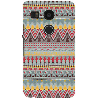 ifasho Animated Pattern colrful 3Dibal design Back Case Cover for Google Nexus 5X
