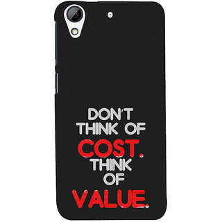 ifasho life Quotes Back Case Cover for HTC Desire 728