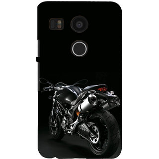 ifasho Sports Bike  Back Case Cover for Google Nexus 5X