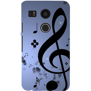 ifasho Modern Art Design Pattern Music symbol Back Case Cover for Google Nexus 5X