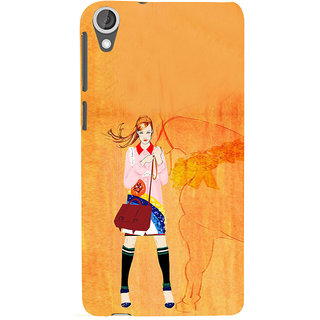 ifasho Girl with Horse Back Case Cover for HTC Desire 820