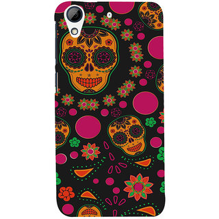 ifasho Animated Pattern Back Case Cover for HTC Desire 728