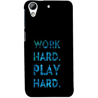 ifasho Carry On Quote Back Case Cover for HTC Desire 626