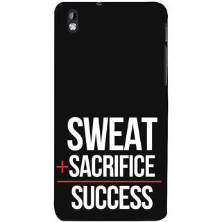 ifasho quotes on success Back Case Cover for HTC Desire 816