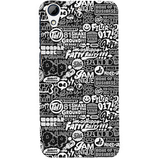ifasho Motivatinal Quote Back Case Cover for HTC Desire 626