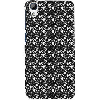 ifasho Modern Art Design Pattern with Lot Of small heart with + sign Back Case Cover for HTC Desire 626