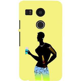 ifasho Designer boy Back Case Cover for Google Nexus 5X