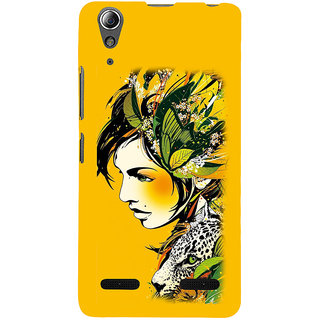 ifasho Jungle girl Back Case Cover for Lenovo A6000