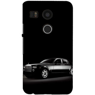 ifasho The Car Back Case Cover for Google Nexus 5X