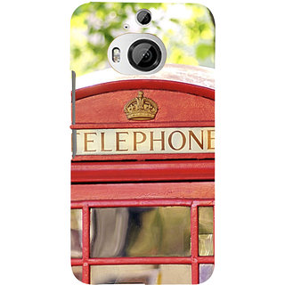 ifasho Telephone booth  Back Case Cover for HTC ONE M9 Plus