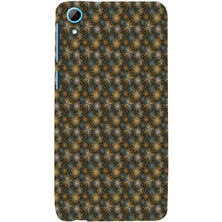 ifasho Animated Pattern design many small flowers  Back Case Cover for HTC Desire 828