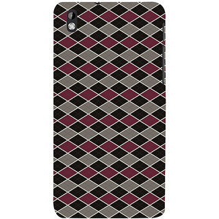 ifasho Animated Pattern of Chevron Arrows royal style Back Case Cover for HTC Desire 816