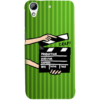 ifasho Modern Theme of black and white Squre inside square Back Case Cover for HTC Desire 626