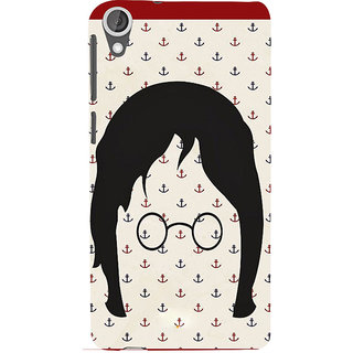 ifasho Modern Art Design Pattern with Lot Of small anchor Back Case Cover for HTC Desire 820