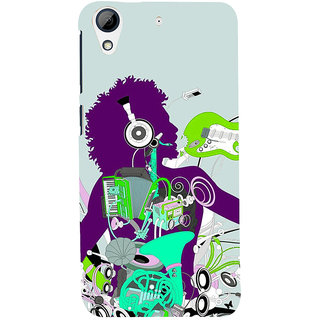 ifasho Boy dancing with music box Back Case Cover for HTC Desire 728